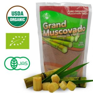 Grand Muscovado Pure Organic Muscovado Raw Brown Sugar 500g Default Image